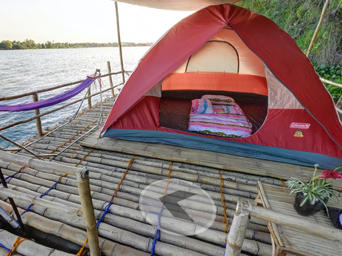 Glamping with a Twist